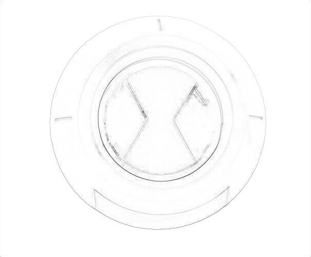 Drawing Of The Ben 10 Ultimate Alien Symbol