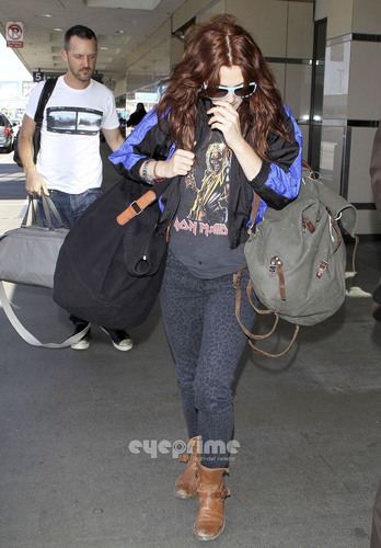 Drew Barrymore departs LAX, June 27
