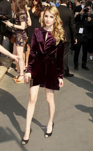 Emma Roberts: 2012 Salvatore Ferragamo Women's Resort Collection in NY, June 28