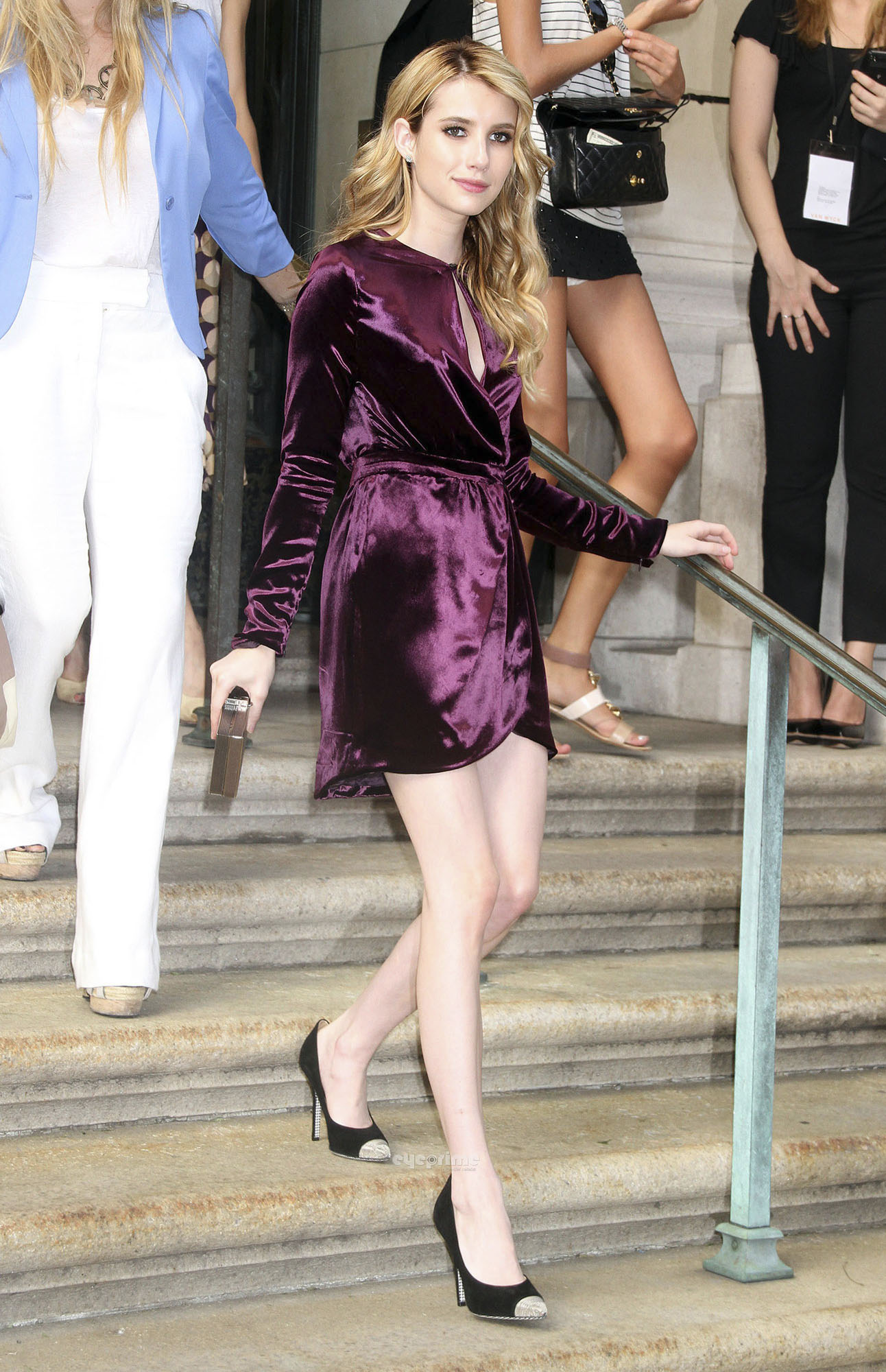 Emma Roberts: 2012 Salvatore Ferragamo Women's Resort Collection in NY, June 28