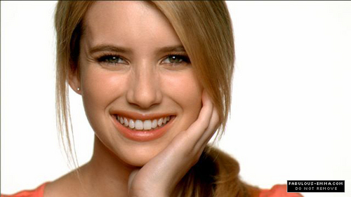 Emma Roberts wallpaper with a portrait titled Emma Roberts Neutrogena Commercial