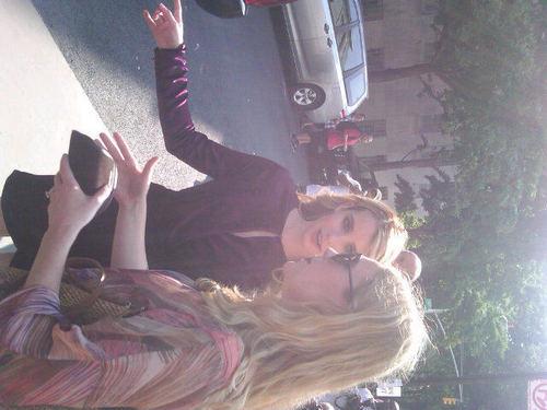 Emma Roberts arrives resort show in Fall ferragamo