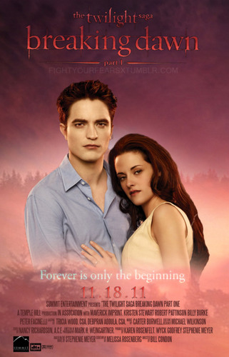Фан Made Breaking Dawn poster