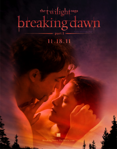 fã Made Breaking Dawn poster