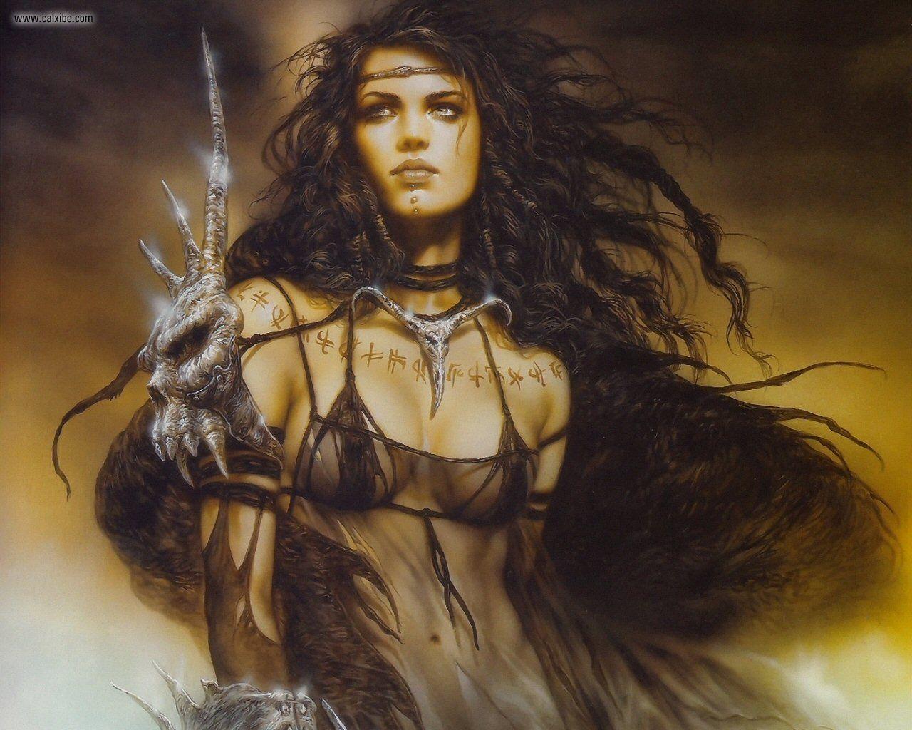 Gothic warrior women sexy pics