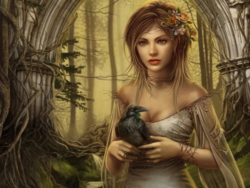 Love angels images fantasy girl hd wallpaper and background photos love angels wallpaper probably containing a conservatory entitled fantasy girl voltagebd Images