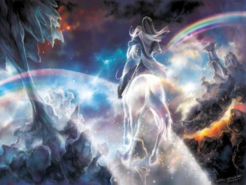 Fantasi pelangi, rainbow