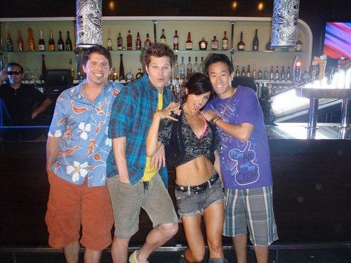 """Filming """"Beach Bar"""""""