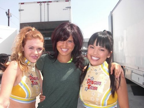 "Filming ""Bring it on : Fight to the finish"""