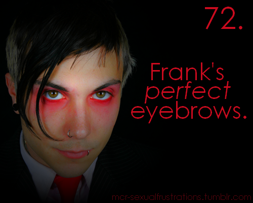 Frank Iero wallpaper probably containing a business suit and a portrait entitled Frank - Sexual Frustrations