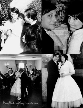 Frank jamia iero wedding