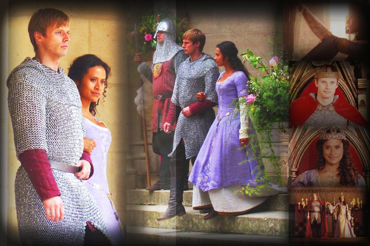 Arthur gwen wedding