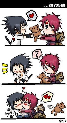 Gaara & Sasuke