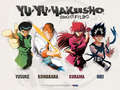 Group Shot - yu-yu-hakusho wallpaper