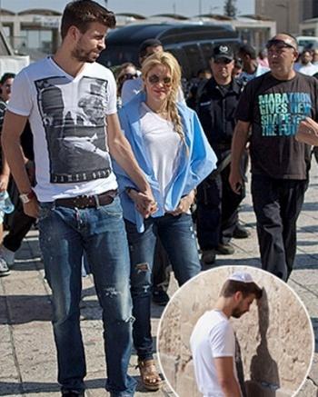 Hace unos días captaron a Shakira y Piqué