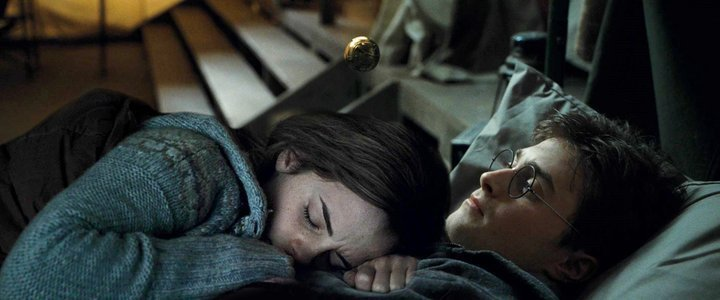 Hermione Hugging Harry Harry And Hermione