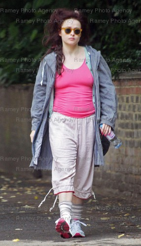 Helena Bonham Carter - Out in লন্ডন