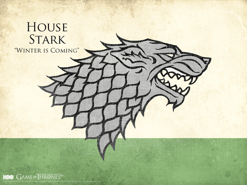 House Stark wallpaper possibly containing anime entitled House Stark