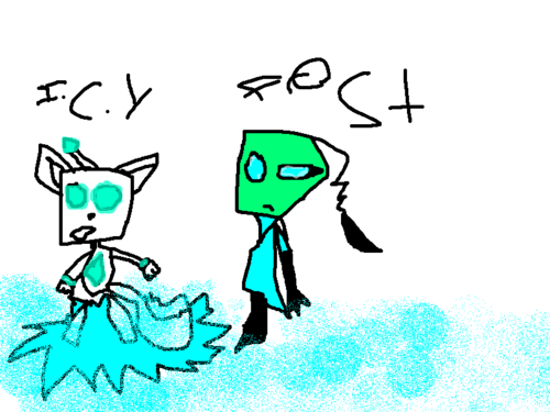 I.C.Y robot and me Frost