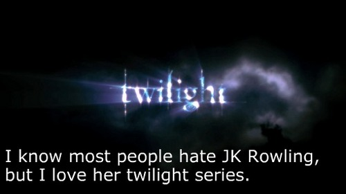 I love her Twilight series