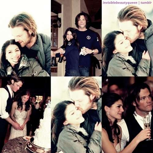 Jared Padalecki & Genevieve Cortese 壁紙 probably containing a portrait entitled Jared&Gen