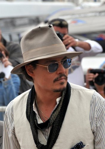 Johnny Depp Cannes 2011