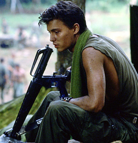 Johnny Depp- Platoon
