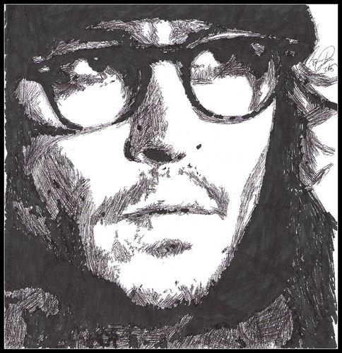 Johnny Depp-ink.