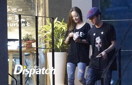 Jun Hyung and KARA's Goo Hara are dating
