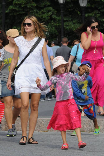 June 24: Out with the kids in NYC