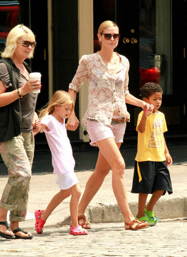 June 25: With family out in NYC
