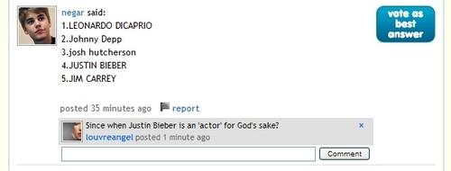 Justin Bieber fan fail...