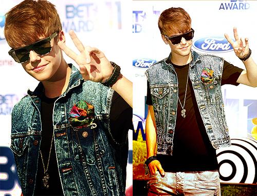 Justin at BET Awards