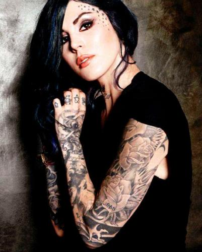 Kat Von D Обои probably containing a portrait entitled KAT:)♥