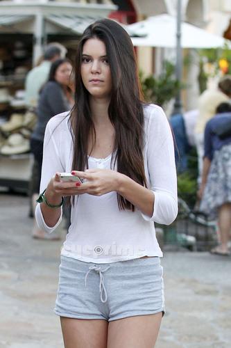 Kendall & Kylie Jenner in Calabasas, June 28