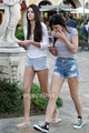 Kendall & Kylie Jenner in Calabasas, June 28