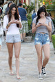 Kendall &amp; Kylie Jenner in Calabasas, June 28 - kylie-jenner photo