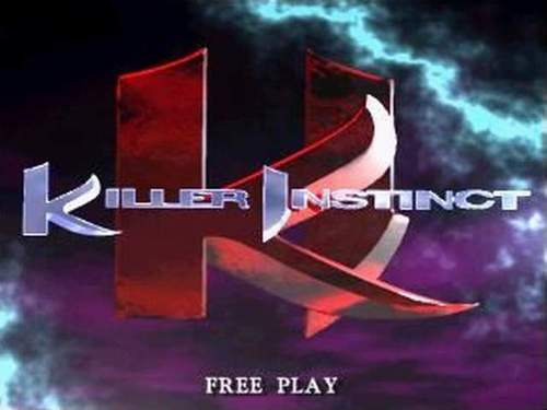 The 90s wallpaper titled Killer Instinct