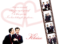 Klaine wall - darren-criss-and-chris-colfer wallpaper
