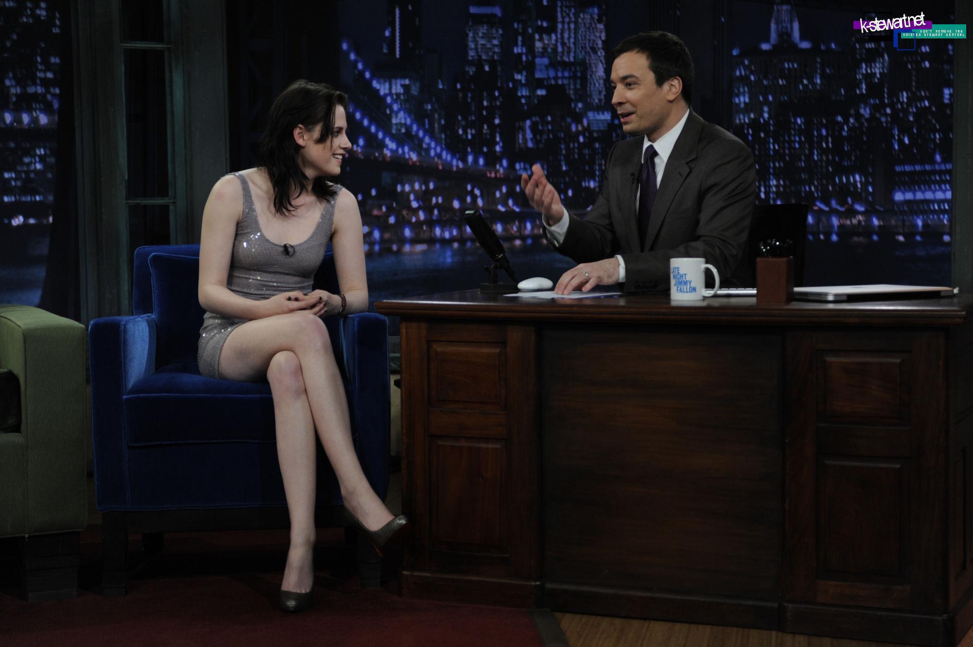 Kristen On Late Night With Jimmy Fallon