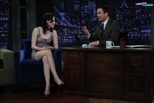 Kristen On Late Night With Jimmy Fallon