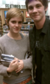 Logan Lerman and Emma Watson-The Perks of being a Wallflower