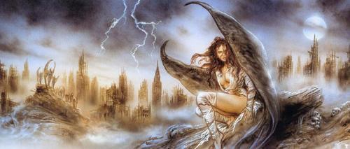 Luis Royo - El ángel Cado