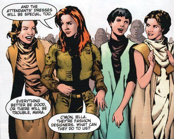 Mara and her Brides maids