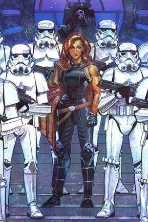 Mara Jade Skywalker wallpaper containing a breastplate, an armor plate, and anime called Mara
