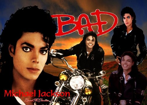 Michael Jackson ~BAD wallpaper <3 niks95  - bad Fan Art