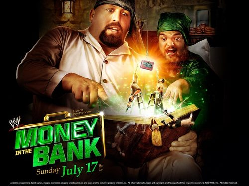 Money in The Bank 2011 official fondo de pantalla