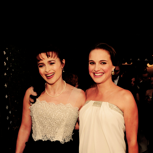 Natalie and Helena Bonham Carter