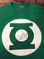 Obama Signed Green Lantern Shirt  - green-lantern photo
