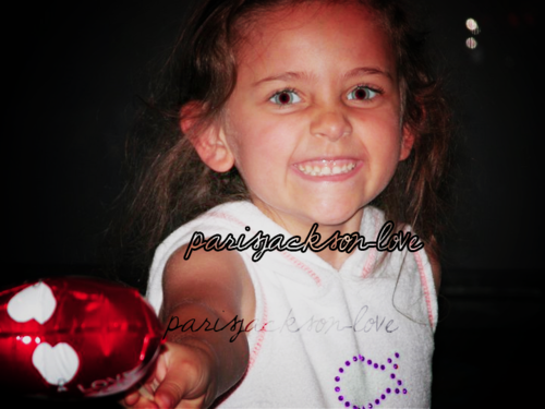Paris Jackson kertas dinding probably with an easter egg titled Paris Rare